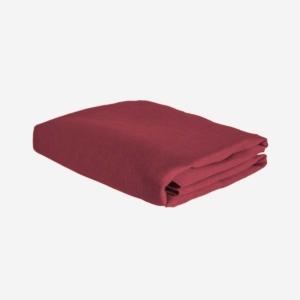 Röd linneduk från Linneverket
