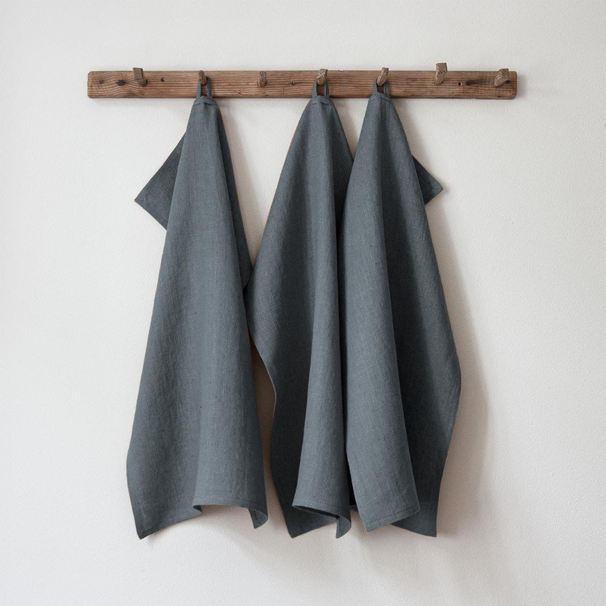 Blue Steel handduk från Linneverket