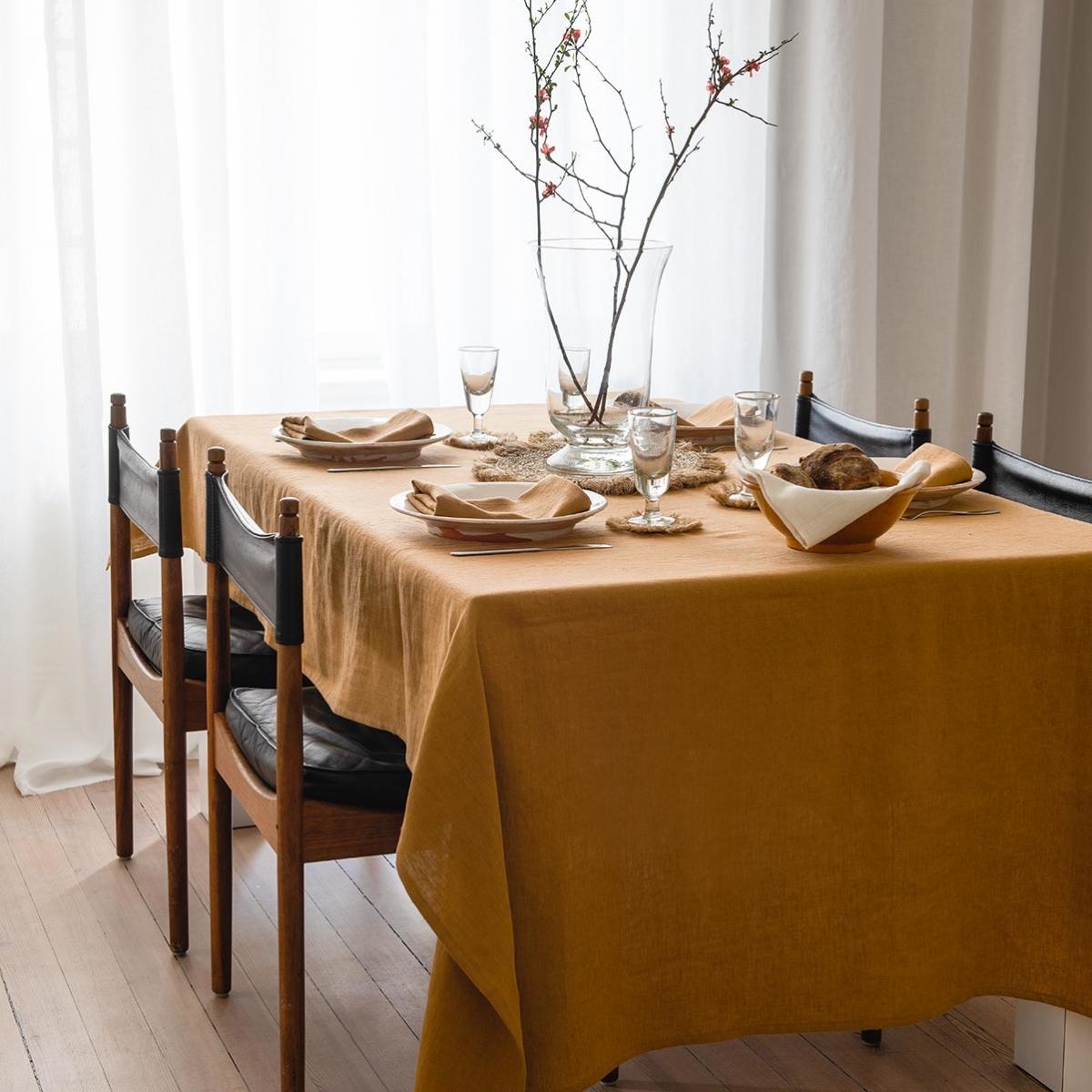 Caramel linneduk från Linneverket